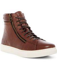 Andrew Marc - Remsen High Top Sneaker - Lyst