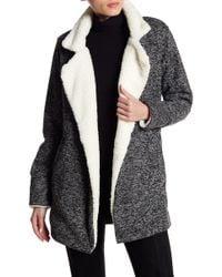 Dex | Faux Fur Collar Jacket | Lyst