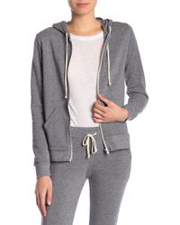 Alternative Apparel - Set In Fleece Zip Hoodie - Lyst