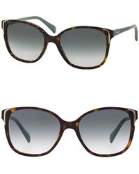 Prada - Women's Square 55mm Sunglasses - Lyst
