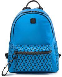 MCM - Medium Limonta Davis Rombi Tumbler Nylon Backpack - Lyst