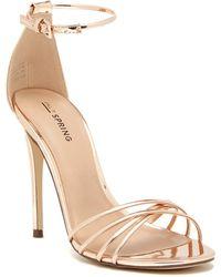 7fc7de53db Women's Call It Spring Sandal heels On Sale - Lyst