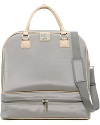 Diane von Furstenberg Drop Bottom Doctor Bag - Gray