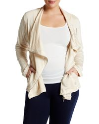 Balance Collection - Kate Asymmetrical Jacket (plus Size) - Lyst
