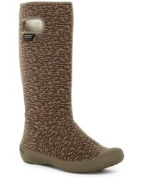 Bogs - Summit Knit Faux Fur Lined Waterproof Boot - Lyst