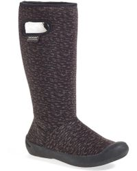 Bogs - 'summit Knit' Faux Fur Lined Waterproof Tall Boot - Lyst