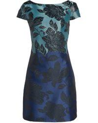 Vince Camuto Jacquard Sheath Dress - Blue