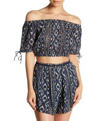 Lost + Wander - Cancun Off-the-shoulder Tube Top - Lyst