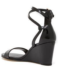 Stuart Weitzman - 'backdraft' Ankle Strap Wedge Sandal (women) - Lyst