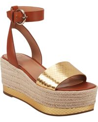 Marc Fisher Gigli Platform Sandal - Multicolour