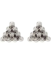 House of Harlow 1960 - Cerro Torre Pyramid Stud Earrings - Lyst