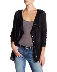 Peace Love World - Alexis Hooded Cardigan - Lyst