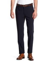 "Louis Raphael - Slim Fit Solid Flat Front Pant - 30-34"" Inseam - Lyst"