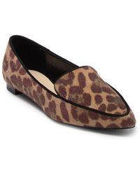 Nine West Adalia Faux Calf Hair Loafer - Multicolour
