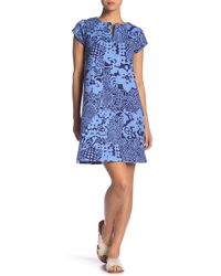 Tori Richard - Gwen Short Sleeve Dress - Lyst