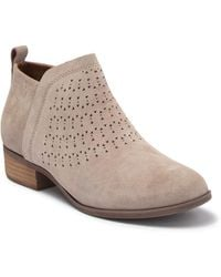 TOMS Deia Zip Bootie - Brown