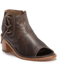 Baske California - Kelsey Lace Up Leather Bootie - Lyst