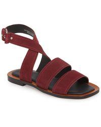 TOPSHOP - Fume Strappy Sandal (women) - Lyst