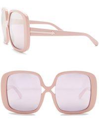 426cd6c1115c Karen Walker - Marques 55mm Oversized Sunglasses - Lyst