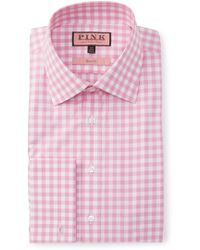 Thomas Pink - Slim Fit Coddenham Check Dress Shirt - Lyst