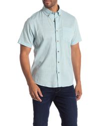Tailor Vintage - Short Sleeve Stretch Fit Shirt - Lyst