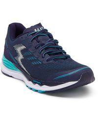 361 Degrees Lace Up Training Sneaker - Blue