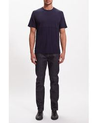 Baldwin Denim Willet Solid T-shirt - Blue