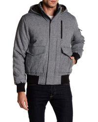 Joe Fresh | Stand Collar Hooded Jacket | Lyst