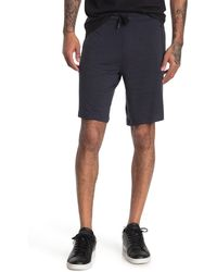 90 Degrees - Zip Pocket Terry Shorts - Lyst