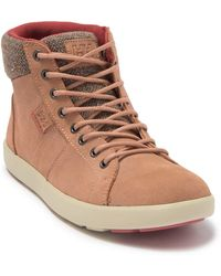 Helly Hansen Madieke Waterproof High Top Sneaker - Brown