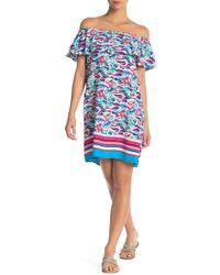 Tommy Bahama - Tropics Off-the-shoulder Dress - Lyst