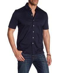 Haspel - Basin Short Sleeve Regular Fit Shirt - Lyst