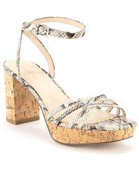 Pelle Moda Amy Ankle Strap Sandal - White