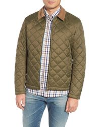 Barbour - Helm Quilted Jacket - Lyst