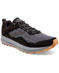 Brooks Cascadia 14 Trail Running Sneaker - Gray