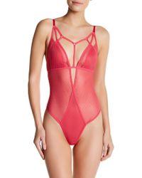 Felina - Niki Thong Bodysuit - Lyst
