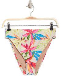 VYB Summer Feels Floral High Waist Bikini Bottoms - Multicolor