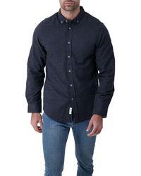 Report Collection - Melange Regular Fit Sport Shirt - Lyst