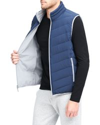 Andrew Marc - Dover Quilted Vest - Lyst