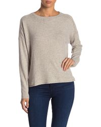 Three Dots - Donegal Drop Shoulder Boxy Sweater - Lyst