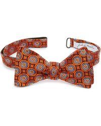 John W. Nordstrom - (r) Medallion Silk Bow Tie - Lyst