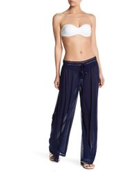 Robin Piccone - Mesh Cover-up Pants - Lyst
