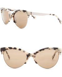 William Rast - Women's 55mm Polarized Cat Eye Sunglasses - Lyst