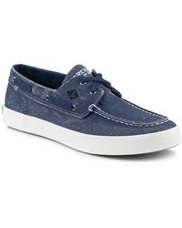 Sperry Top-Sider - Wahoo 2 Eye Lace Up Boat Shoe - Lyst