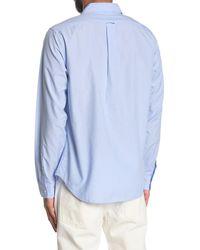 Alex Mill End On End School Regular Fit Shirt - Blue