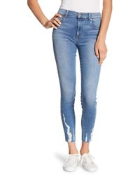 Level 99 - Janie High Rise Skinny Jeans - Lyst