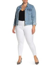NYDJ Ami Ankle Crop Skinny Jeans - Multicolour