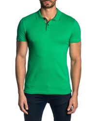 Jared Lang - Trim-fit Stretch Cotton Polo - Lyst
