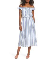 Fraiche By J - Prairie Off The Shoulder Dress - Lyst