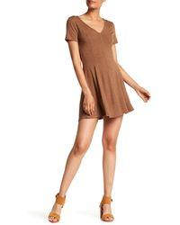 Heather by Bordeaux - Heavy Jersey Skater Dress - Lyst